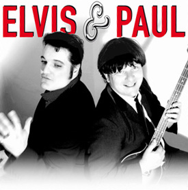 Elvis and Paul Foto02