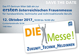 SAVE THE DATE DIE Messe